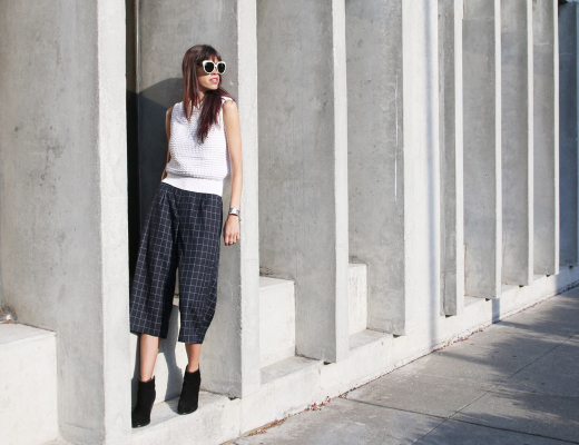 fall fashion, dressy, culottes