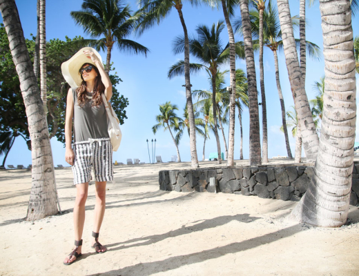 kendall chase of chasing kendall in hawaii resort wear