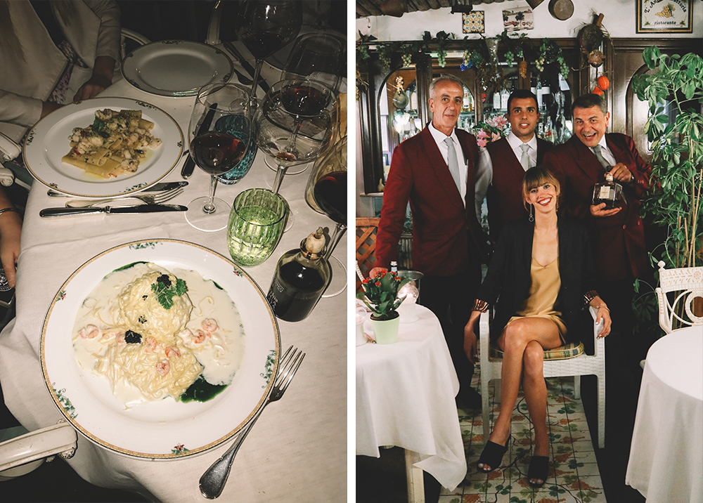Amalfi Travel Guide Sorrento Dinner | Chasing Kendall