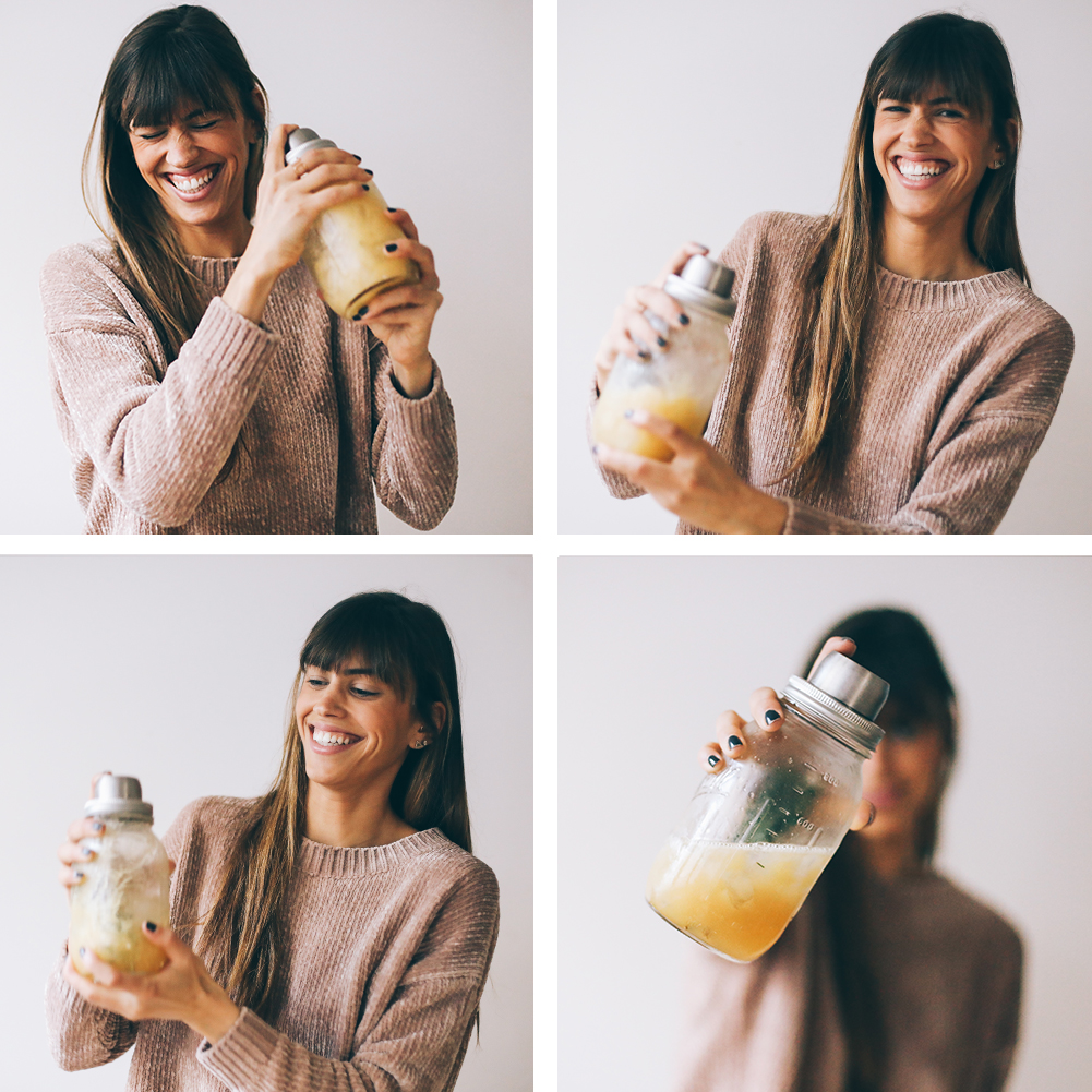 fall cocktail recipe- bourbon rosemary lemon | chasingkendall